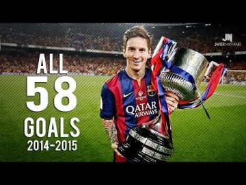 Lionel Messi ? All Goals ? 2014/2015 HD